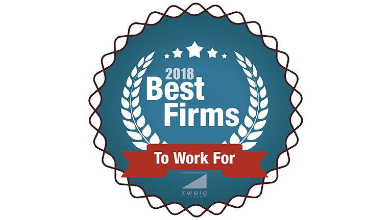 Best Firms to Work For Badge